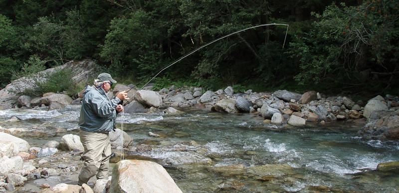 Trout Fishing in Switzerland